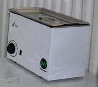 Ultrasonic Cleaner  - Removes the chiropody debris from them to be sterilised