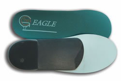 Eagleflex Orthotics for Golf Shoes