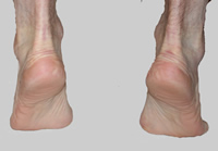 Photo of feet on tip toes
