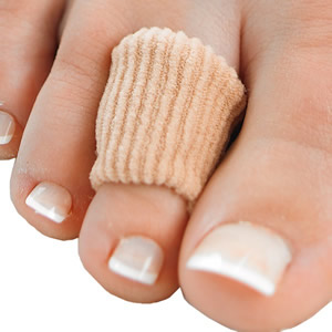 Gel toe cover