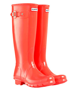 Hunter wellies - lots of colours