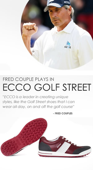 Fred Couples Ecco Golf shoes