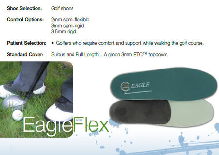 Golf Orthotics and Arch Supports